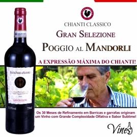 ANÚNCIO CHIANTI GRAN SELEZIONE POGGIO AL MANDORLI 2